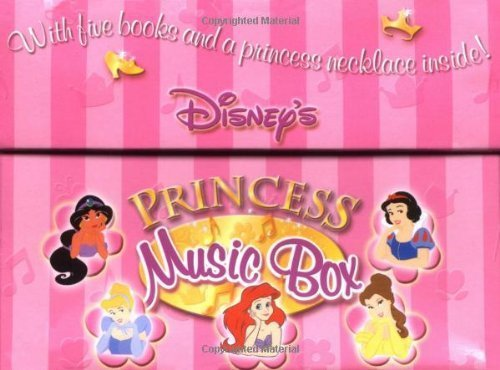 Disney's Princess Music Box: With Five Books and a Necklace Inside! (Disney's Princess Backlist) by Disney Book Group (2002-09-02) Princess Music Box