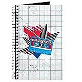 CafePress Pepsi Flashback Kassetten-Notizbuch, Spiralbindung, persönliches Tagebuch, blanko