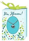 Halskette - Von Herzen!: Silberkette mit Herzanhänger