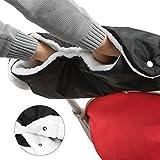 TBoonor Kinderwagen Handschuhe Handwärmer Kinderwagenmuff Funktions-Handmuff mit Fleece Innenseite, Universalgröße für Kinderwagen, Buggy, Jogger, Radanhänger