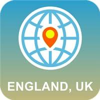 England, UK Map Offline