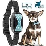 Good Boy humanes Anti-Bell Halsband für kleine Hunde – Vibrierendes Anti-Bell Gerät mit neuem 2018 Design und Mikrochip Upgrade für eine bessere Bell Erkennung – Wiederaufladbar & Wetterfest