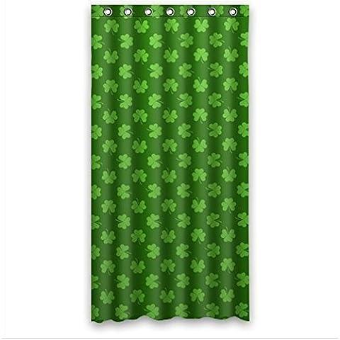 DIY NEW Shower Curtain fashion design Irish Shamrock beautiful Shamrock art Bathroom decor 100% Polyester Shower Curtain (36inches wide x 72inches