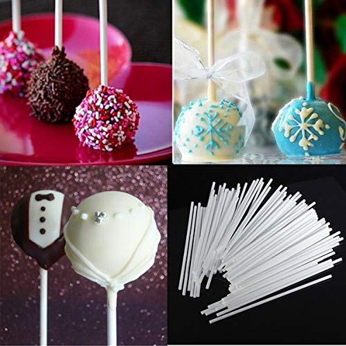100 Stücke 15 cm Pop Sucker Sticks Kuchen Papier Am Stiel Lutscher Süßigkeiten Schokolade Modellierform Form