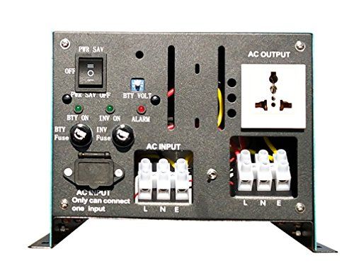 4 IN 1 Convertisseur pur sinus 5000w onduleur 24V à 220V onde sinusoïdale pure power inverter/ UPS/Chargeur de batterie 80A,solaire Charge 50A