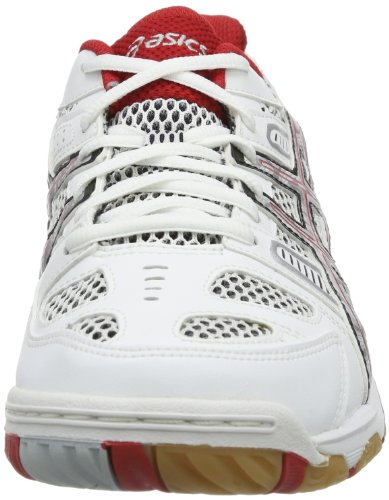 Blanc Rosso Pallavolo Bianco Asics De tattica Chaussures Gel bianco Homme wzYHxqUx