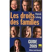 Les droits des familles : Guide 2009