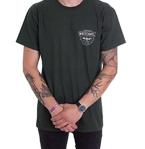Whitechapel Black Label Forest Green - T-Shirt-X-Large Whitechapel T-shirts