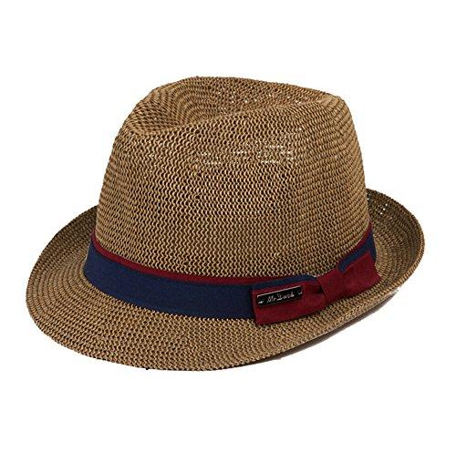 cappelli-di-paglia-ragazzi-uomini-cannuccia-fatto-a-mano-primavera-estate-cappello-marrone