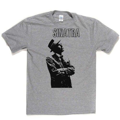 Sinatra American Actor Musician T-shirt Ash Grey