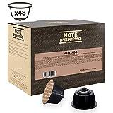 Note D'Espresso Cortado, Capsule istantanee, compatibili con macchine Dolce Gusto, 6,3 g x 48