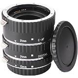 Jeu macro extension anneaux pour objectif Canon EOS EF 1100D 1000D 600D 650D 7D DC373