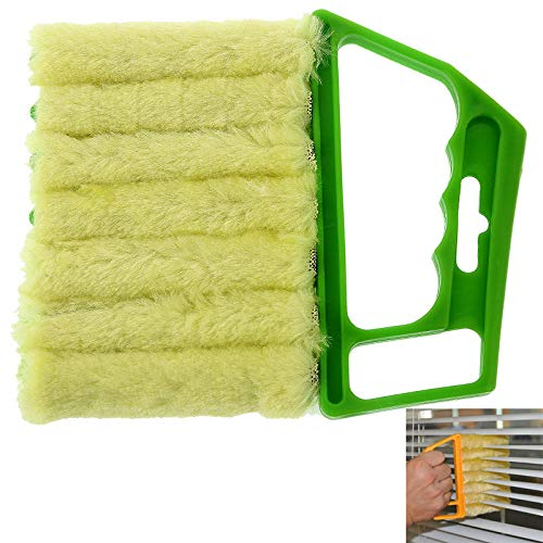 JUN GUANG 2 Pack Microfiber Blinds und Shutter Fensterputz-Faldow Window Air Conditioner Duster Cleaner Duster,B - Cleaner Air Duster