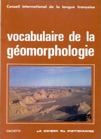 Vocabulaire de la géomorphologie