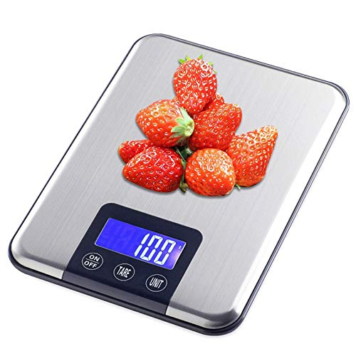 zazcb Küche Familie Größe Kg \ G Elektronische Lebensmittel Ernährung für Backen Kochen Tools Postal Gleichgewicht Gewicht LCD-Digital-Gewicht-Lineal