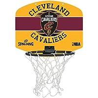 Spalding NBA Miniboard Cleveland Cavs 77-650Z Minicanasta, Unisex, Multicolor, Talla Única