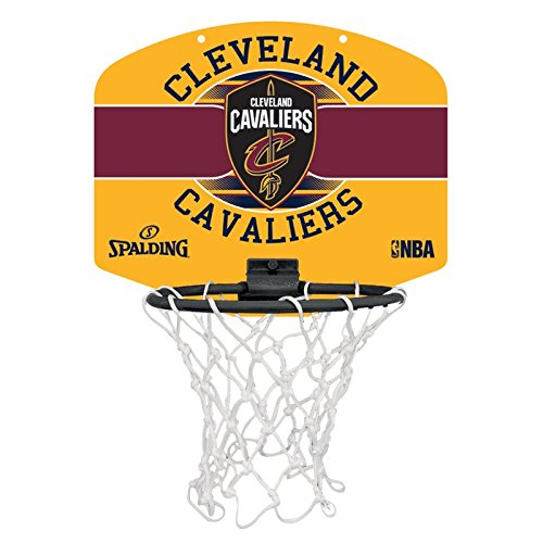 Spalding NBA Miniboard Cleveland Cavs Basketball, Mehrfarbig, One Size