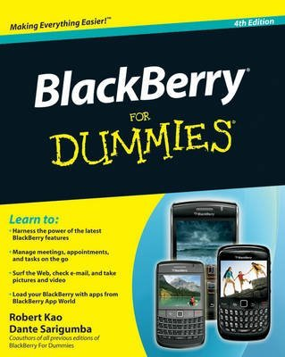[BlackBerry For Dummies] (By: Robert Kao) [published: May, 2011]