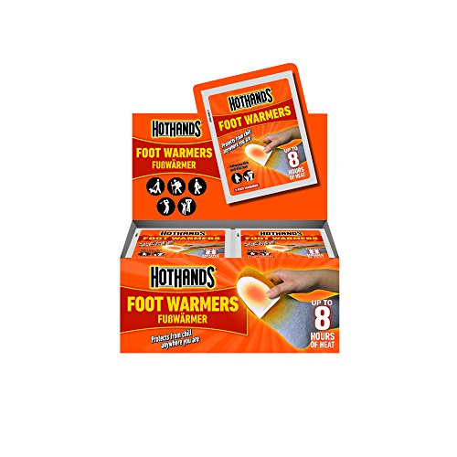Hot Hands - Kit di 40 scaldapiedi