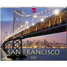 SAN FRANCISCO: Original Stürtz-Kalender 2018 - Großformat-Kalender 60 x 48 cm