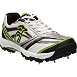 Kookaburra-Pro-1200-Spike-Cricket-Shoe-Lime