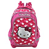 Hello Kitty Kinder-Rucksack 16315, Pink