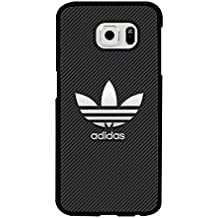 Galaxy S6 Funda Case Adidas Luxury Brand Logo - Samsung Galaxy S6 Customised Funda Case for Men - Hard Protector Funda Case Slim Armor