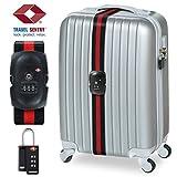 Cadenas TSA et Sangles de Bagage (agréées par la TSA), Cadenas TSA BEZ? (code à 3 chiffres) (alliage de Zinc)...