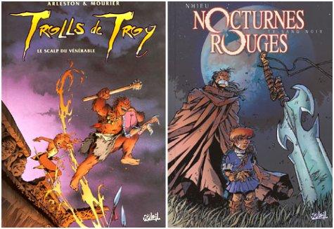 2 BD pour le prix d'1 : Trolls de Troy, tome 2 + Nocturnes rouges, tome 1