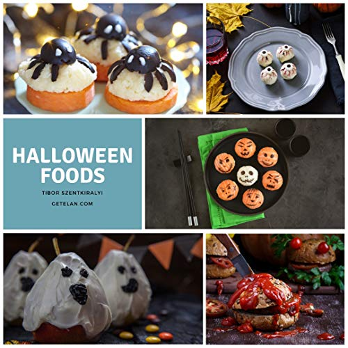 (Halloween Foods: Scary and funny ideas with photos and recipes (English Edition))