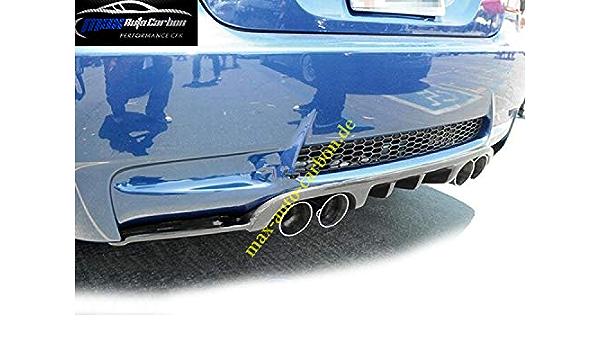 Carbon Gfk Diffusor Heckansatz Bumper Passen Für M3 E92 E93 M Paket Heckschürze Auto