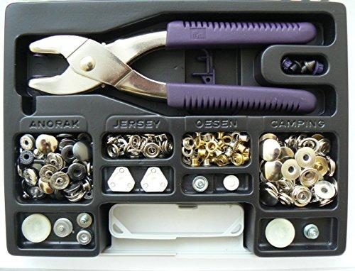 Prym Valigetta Bottoni Automatici Rivetti Occhielli Pinza Vario 651420 Jeans