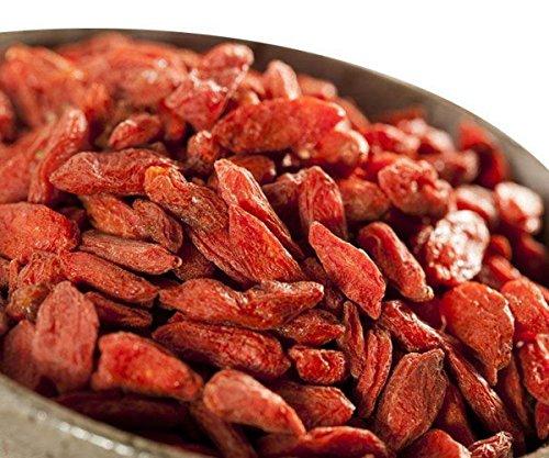 Goji Beeren 500g - Getrocknete & ungeschwefelte Goji Beeren aus einem der besten Anbaugebiete der Welt (Ningxia - China) - Gojibeeren 500g