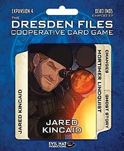 Evil Tiene Productions ehp00037Dresden Files: Cooperative Card Game Expansion 4de Dead Ends