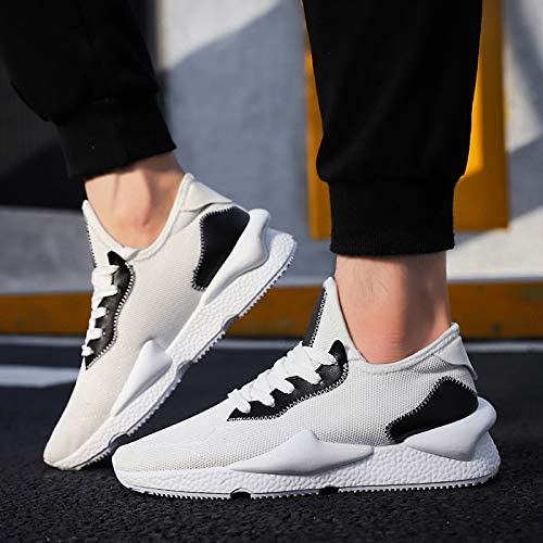NANXIEHO Autumn And Winter Flying Flying Flying Weaving Leisure Sport scarpemen Breathable Running Fashion Trend Single scarpe B07GTFQ9HM Parent   Apparenza Estetica    Portare-resistendo  2428e7