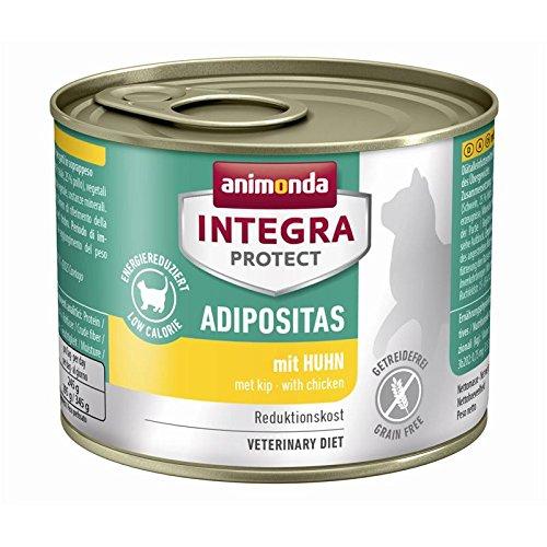 Animonda Cat Dose Integra Protect Adipositas Huhn   6x 200g