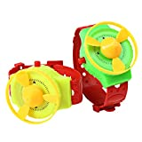 HAPPYQUDA Flying Saucer Watch Toy Flying Disc Kids Toys Baby Gift