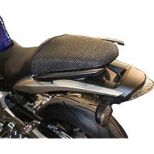 Honda Hornet CB600F (2007-2010) Cubierta TRIBOSEAT para Asiento Antideslizante Accesorio Personalizado Negro