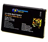 Extremecells  batterie nokia 5230 x 6–00–5800 n900 c 3–00 bL - 5J 5228 xM accu xpressMusic
