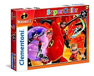 Clementoni Supercolor-The Incredibles 2-60Piezas Puzzle, 26987, Multicolour