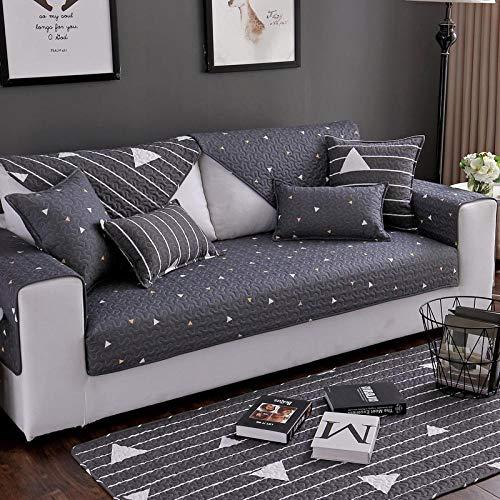 Renshenx copridivano 1/2/3/4 posti copridivano morbido colorato,copertura animali domestici,cuscino divano cotone, colore, federa 45 * 45 cm