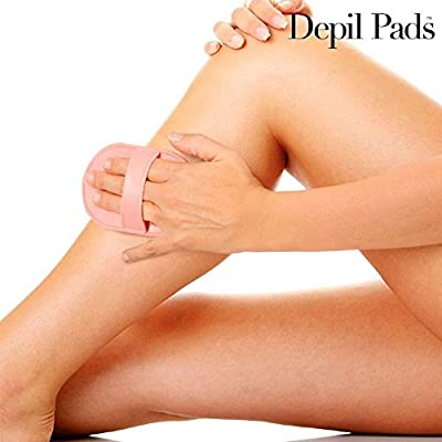 Mamzelle o Hair Removal Pads-Exfoliating Pads with 5Refills, Large from IGS