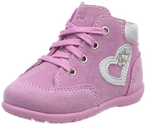 Richter Kinderschuhe Baby Mädchen Duplo Sneaker, Pink (Candy/Silver), 22 EU