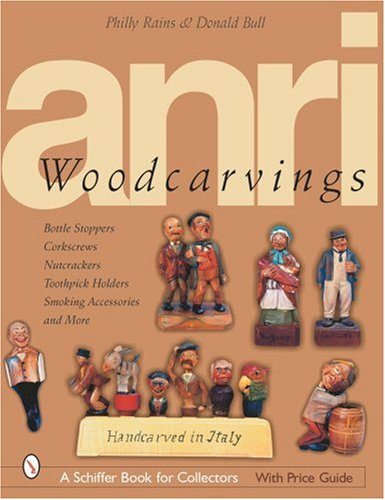 Anri Woodcarving: Bottle Stoppers, Corkscrews, Nutcrackers, Toothpick Holders, Smoking Accessories, and More di Philly Rains