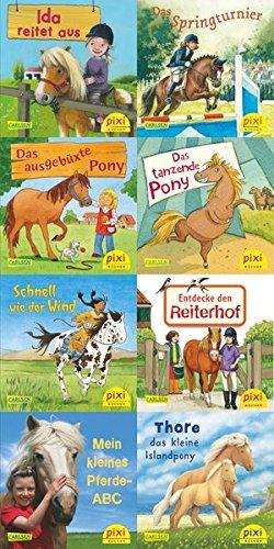 Pferde-Freundschaften (8x1 Exemplar) (Pixi-8er-Set, Band 231)