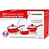 PRIMA Ceramic Coated Cookware Set, Set of 7 Review and Comparison