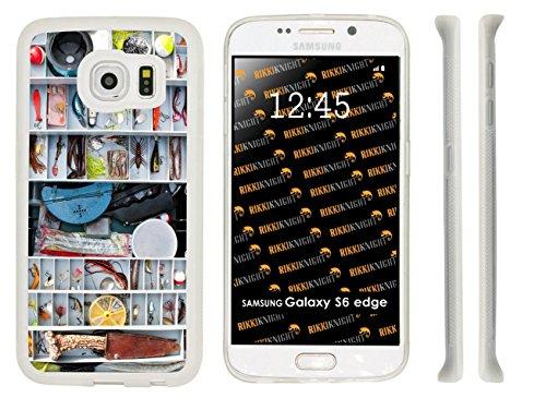 Rikki Knight Fisherman's Tackle Box Loaded Schutzhülle für Samsung Galaxy S6 Edge, Gummi, durchsichtig (Box Damen Tackle)
