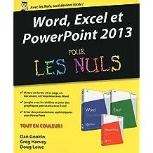 Word, Excel, PowerPoint 2013 pour les Nuls