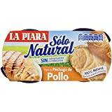 La Piara Sólo Natural - Paté de Pechuga de Pollo, 2 X 75 g