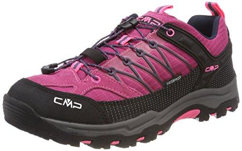 CMP Campagnolo Unisex-Erwachsene Rigel Trekking-& Wanderstiefel, (Pink Fluo-Asphalt), 40 EU